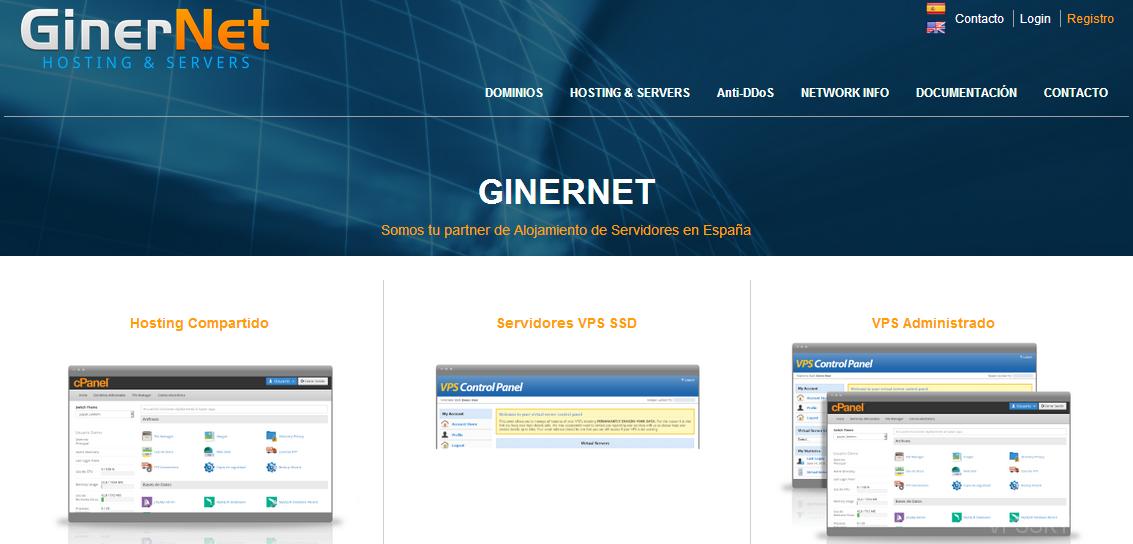 GinerNet:10欧年付-512M内存/10gSSD/300g流量/西班牙/无视版权
