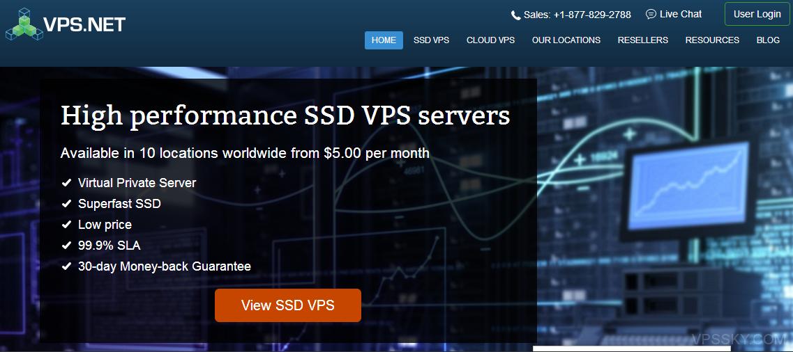 vps.net:2.5美元/月-5折/Xen/512m内存/15gSSD/1T流量/10个机房