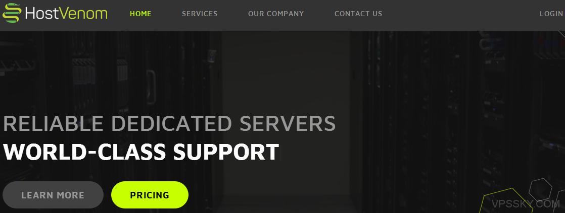 [服务器]HostVenom:$49/月-E3-1230v2/8g内存/500g硬盘/1Gbps/steadfast机房
